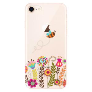 Silikonové odolné pouzdro iSaprio Bee 01 na mobil Apple iPhone 8