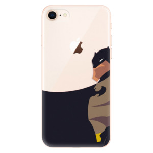 Silikonové odolné pouzdro iSaprio BaT Comics na mobil Apple iPhone 8