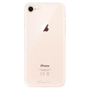 Silikonové odolné pouzdro iSaprio 4Pure čiré bez potisku na mobil Apple iPhone 8