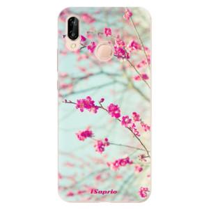 Silikonové odolné pouzdro iSaprio Blossom 01 na mobil Huawei P20 Lite