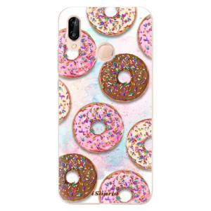 Silikonové odolné pouzdro iSaprio Donuts 11 na mobil Huawei P20 Lite