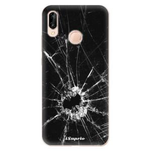 Silikonové odolné pouzdro iSaprio Broken Glass 10 na mobil Huawei P20 Lite
