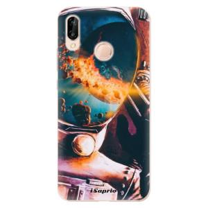 Silikonové odolné pouzdro iSaprio Astronaut 01 na mobil Huawei P20 Lite
