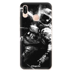 Silikonové odolné pouzdro iSaprio Astronaut 02 na mobil Huawei P20 Lite