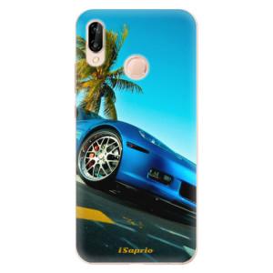 Silikonové odolné pouzdro iSaprio Car 10 na mobil Huawei P20 Lite