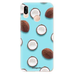 Silikonové odolné pouzdro iSaprio Coconut 01 na mobil Huawei P20 Lite
