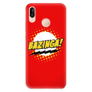 Silikonové odolné pouzdro iSaprio Bazinga 01 na mobil Huawei P20 Lite