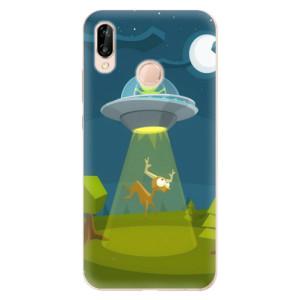 Silikonové odolné pouzdro iSaprio Alien 01 na mobil Huawei P20 Lite