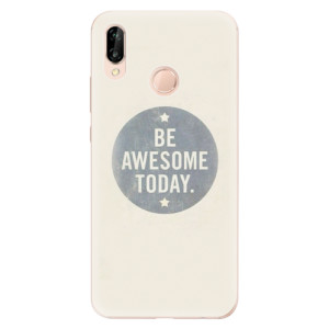 Silikonové odolné pouzdro iSaprio Awesome 02 na mobil Huawei P20 Lite