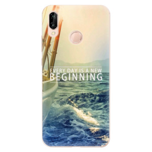 Silikonové odolné pouzdro iSaprio Beginning na mobil Huawei P20 Lite