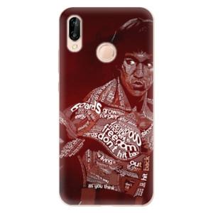 Silikonové odolné pouzdro iSaprio Bruce Lee na mobil Huawei P20 Lite