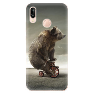 Silikonové odolné pouzdro iSaprio Bear 01 na mobil Huawei P20 Lite
