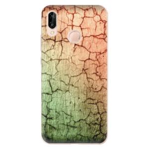 Silikonové odolné pouzdro iSaprio Cracked Wall 01 na mobil Huawei P20 Lite