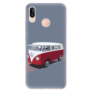Silikonové odolné pouzdro iSaprio VW Bus na mobil Huawei P20 Lite