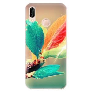 Silikonové odolné pouzdro iSaprio Autumn 02 na mobil Huawei P20 Lite