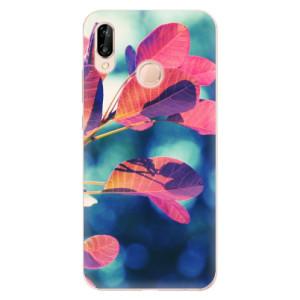 Silikonové odolné pouzdro iSaprio Autumn 01 na mobil Huawei P20 Lite