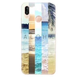 Silikonové odolné pouzdro iSaprio Aloha 02 na mobil Huawei P20 Lite