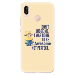 Silikonové odolné pouzdro iSaprio Be Awesome na mobil Huawei P20 Lite