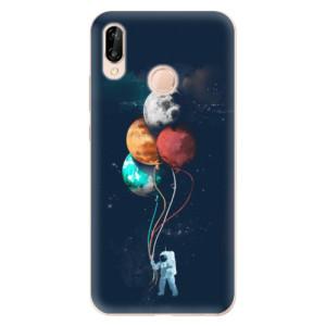 Silikonové odolné pouzdro iSaprio Balloons 02 na mobil Huawei P20 Lite
