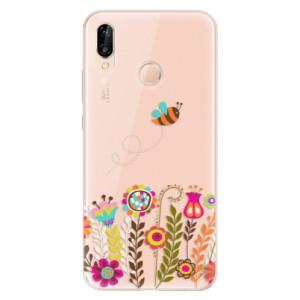 Silikonové odolné pouzdro iSaprio Bee 01 na mobil Huawei P20 Lite