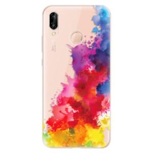 Silikonové odolné pouzdro iSaprio Color Splash 01 na mobil Huawei P20 Lite