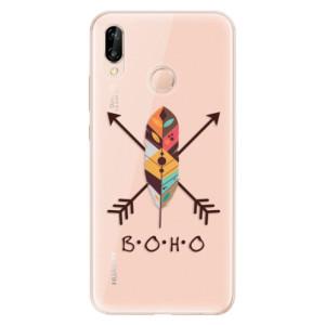 Silikonové odolné pouzdro iSaprio BOHO na mobil Huawei P20 Lite