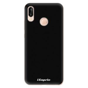 Silikonové odolné pouzdro iSaprio 4Pure černé na mobil Huawei P20 Lite
