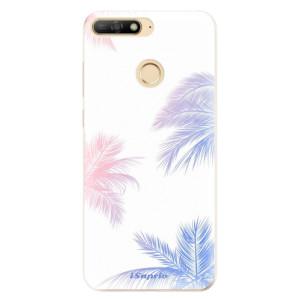 Silikonové odolné pouzdro iSaprio Digital Palms 10 na mobil Huawei Y6 Prime 2018
