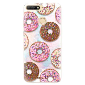 Silikonové odolné pouzdro iSaprio Donuts 11 na mobil Huawei Y6 Prime 2018