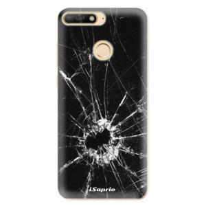 Silikonové odolné pouzdro iSaprio Broken Glass 10 na mobil Huawei Y6 Prime 2018