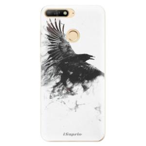 Silikonové odolné pouzdro iSaprio Dark Bird 01 na mobil Huawei Y6 Prime 2018