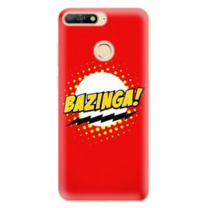 Silikonové odolné pouzdro iSaprio Bazinga 01 na mobil Huawei Y6 Prime 2018