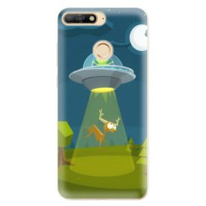 Silikonové odolné pouzdro iSaprio Alien 01 na mobil Huawei Y6 Prime 2018