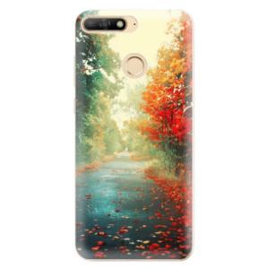 Silikonové odolné pouzdro iSaprio Autumn 03 na mobil Huawei Y6 Prime 2018