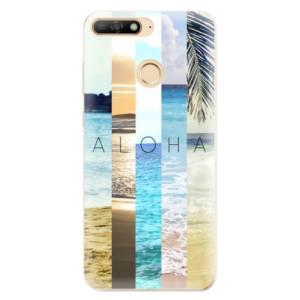 Silikonové odolné pouzdro iSaprio Aloha 02 na mobil Huawei Y6 Prime 2018