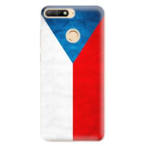 Silikonové odolné pouzdro iSaprio Czech Flag na mobil Huawei Y6 Prime 2018