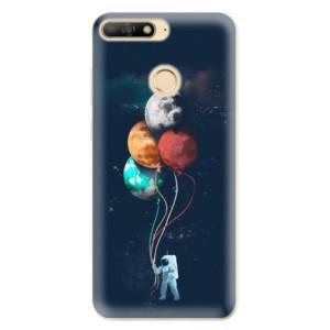 Silikonové odolné pouzdro iSaprio Balloons 02 na mobil Huawei Y6 Prime 2018