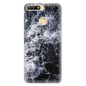Silikonové odolné pouzdro iSaprio Cracked na mobil Huawei Y6 Prime 2018