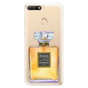 Silikonové odolné pouzdro iSaprio Chanel Gold na mobil Huawei Y6 Prime 2018