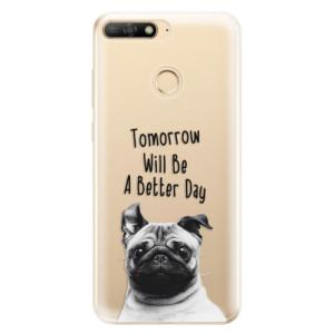 Silikonové odolné pouzdro iSaprio Better Day 01 na mobil Huawei Y6 Prime 2018