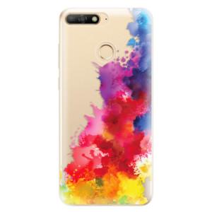 Silikonové odolné pouzdro iSaprio Color Splash 01 na mobil Huawei Y6 Prime 2018