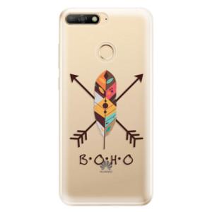 Silikonové odolné pouzdro iSaprio BOHO na mobil Huawei Y6 Prime 2018