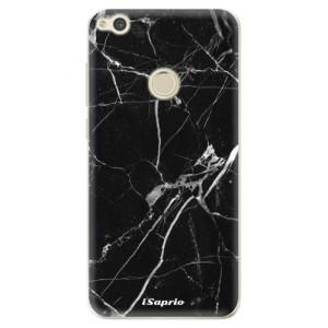 Silikonové odolné pouzdro iSaprio Black Marble 18 na mobil Huawei P9 Lite 2017