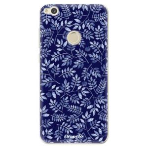 Silikonové odolné pouzdro iSaprio Blue Leaves 05 na mobil Huawei P9 Lite 2017