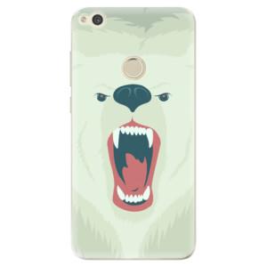 Silikonové odolné pouzdro iSaprio Angry Bear na mobil Huawei P9 Lite 2017
