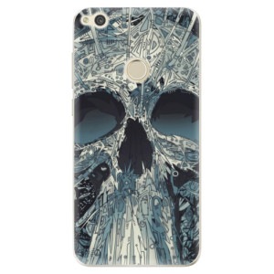 Silikonové odolné pouzdro iSaprio Abstract Skull na mobil Huawei P9 Lite 2017