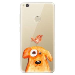 Silikonové odolné pouzdro iSaprio Dog And Bird na mobil Huawei P9 Lite 2017 - poslední kousek za tuto cenu