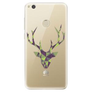 Silikonové odolné pouzdro iSaprio Deer Green na mobil Huawei P9 Lite 2017