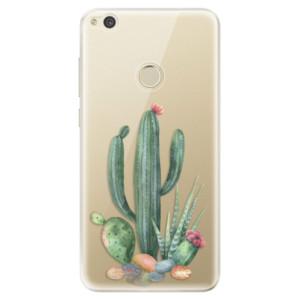 Silikonové odolné pouzdro iSaprio Cacti 02 na mobil Huawei P9 Lite 2017