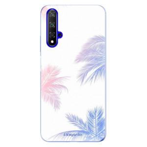 Silikonové odolné pouzdro iSaprio Digital Palms 10 na mobil Honor 20